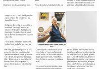 Christiane Botello a sus Cien