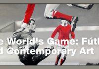 Fútbol y arte contemporáneo