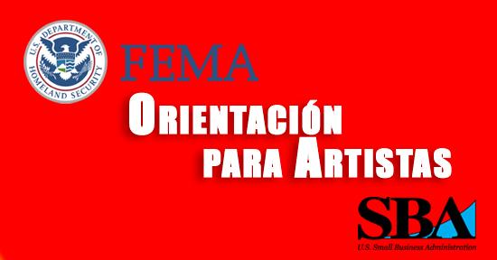 FEMA | SBA | Orientación para Artistas | Autogiro Arte