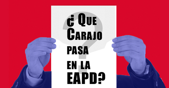 ¿ Que Carajo pasa en la EAPD? | Autogiro Arte Actual