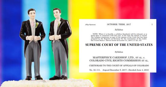 cakeshop wedding gay supreme court | Autogiro Arte Actual