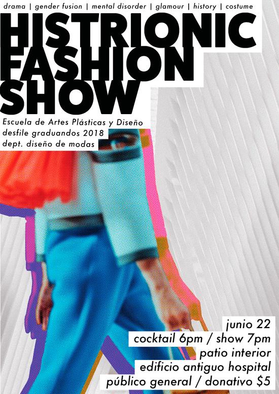 histrionic fashion show | Autogiro Arte Actual