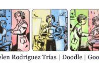 Helen Rodríguez Trías | Google doodle