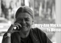 Fallece la pintora Mary-Ann Mackinnon