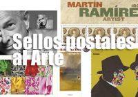 Sellos postales al Arte
