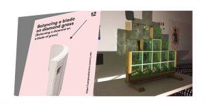 Balancing a blade on diamond grass | Autogiro Arte Actual