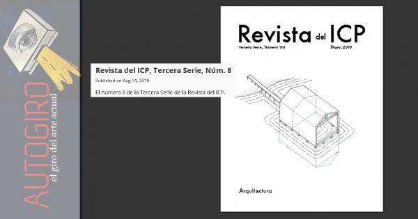 Revista del Instituto de cultura Arquitectura | Autogiro Arte Actual