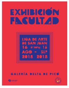 exposición de facultad liga de arte | Autogiro Arte Actual
