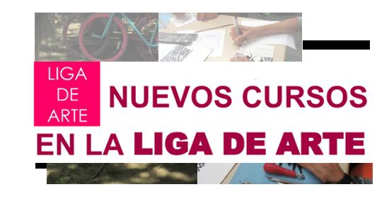 nuevos cursos en la liga de arte | Autogiro Arte Actual