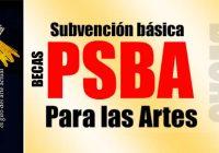 Convocatoria PSBA | Plazo  8 de oct
