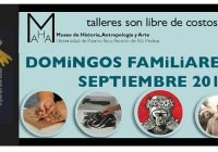 Calendario Domingos de Museo