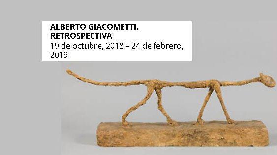 giacometti retrospectiva | Autogiro Arte Actual