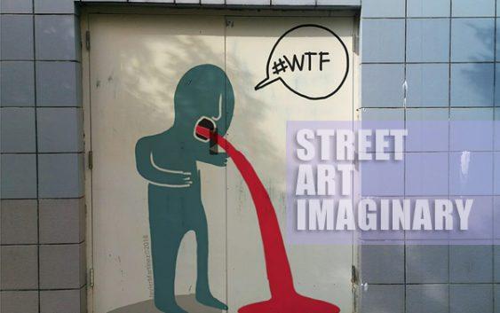 Street art imaginary de javier martinez | Autogiro Arte Actual