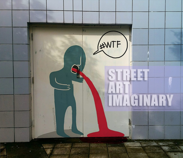 Street art imaginary de javier martinez | Autogiro Arte Actual