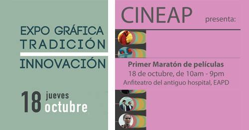 CINEAP y Expo Gráfica-Tradición\Innovación | Autogiro Arte Actual