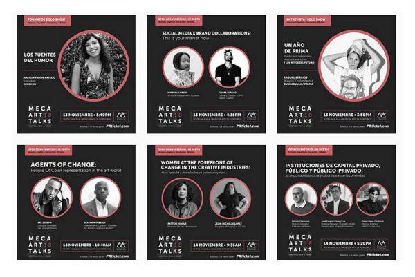 MECA 2018 | MECA Art Talks | 16 al 19 Noviembre | San Juan | Autogiro Arte Actual