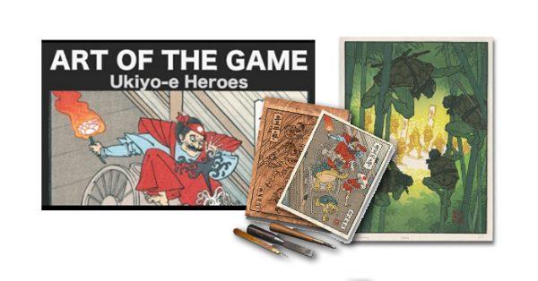 Ukiyo-e Heroes | Autogiro Arte Actual