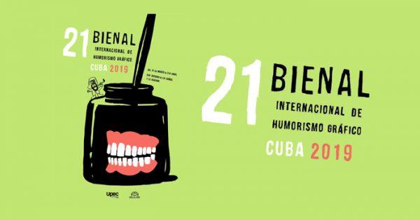 XXI Bienal Internacional del Humorismo Gráfico Cuba 2019