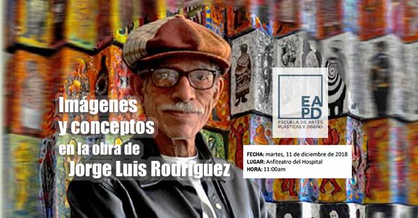 Charla con Jorge Luis Rodríguez