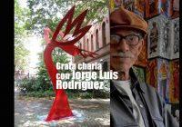 Grata charla con Jorge Luis Rodríguez