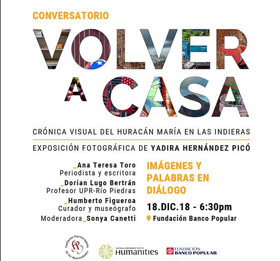 Cierre | Conversatorio de Volver a casa: crónica visual del Huracán María en las Indieras | Autogiro Arte Actual