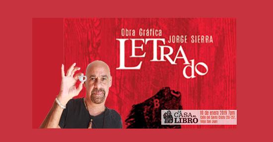 Letrado de Jorge Sierra | Autogiro Arte Actual