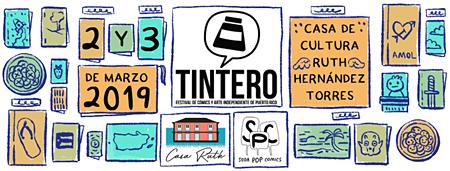 Tintero: Festival de Cómics y Arte Independiente de Puerto Ric | Autogiro Arte Actual