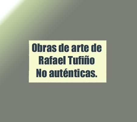 arte falso de rafael tufiño | Autogiro Arte Actual