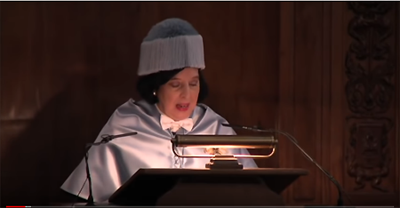 Luce López Baralt recibe doctorado