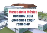 Museo de la Música, La Controversia
