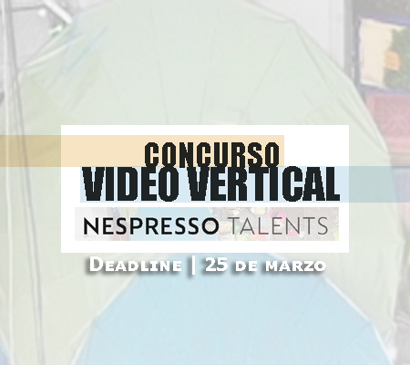 Nespresso talents video vertical | Autogiro Arte Actual