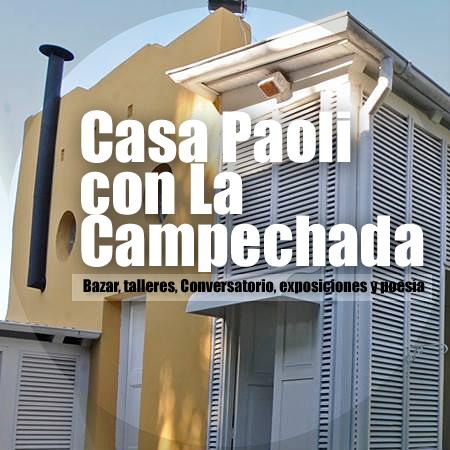 Casa Paoli con la Campechada | Bazar de telas africanas, taller de grabado, Conversatorio, exposiciones y Café con poesía