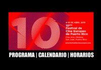 Festival de Cine Europeo | Calendario