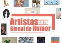 Artistas en la Bienal de Humor