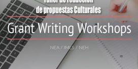 Taller de redacción de propuestas Culturales