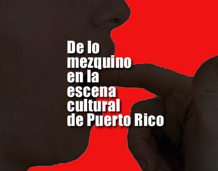 la escena cultural de Puerto Rico