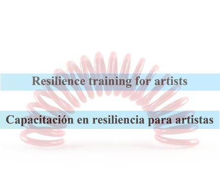 adiestramiento para artistas visuales