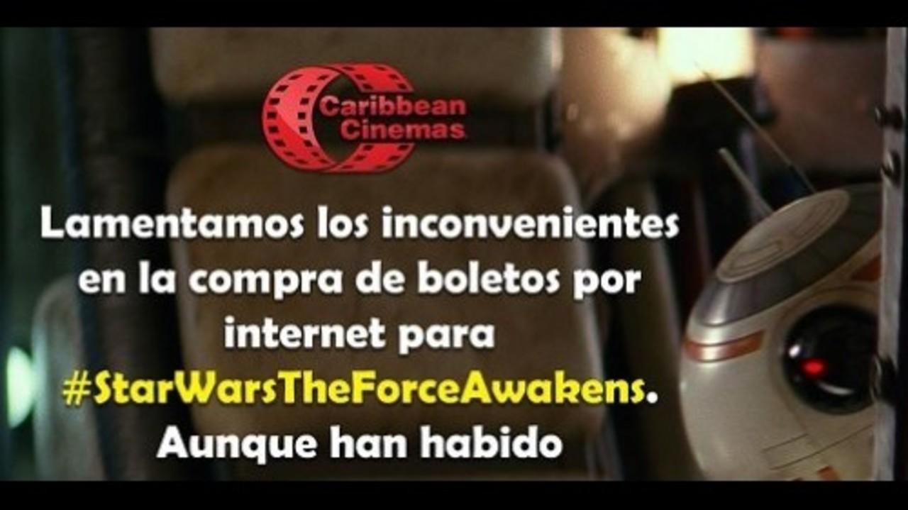 """La """"fuerza"""" se debilita en la preventa de Star Wars"""