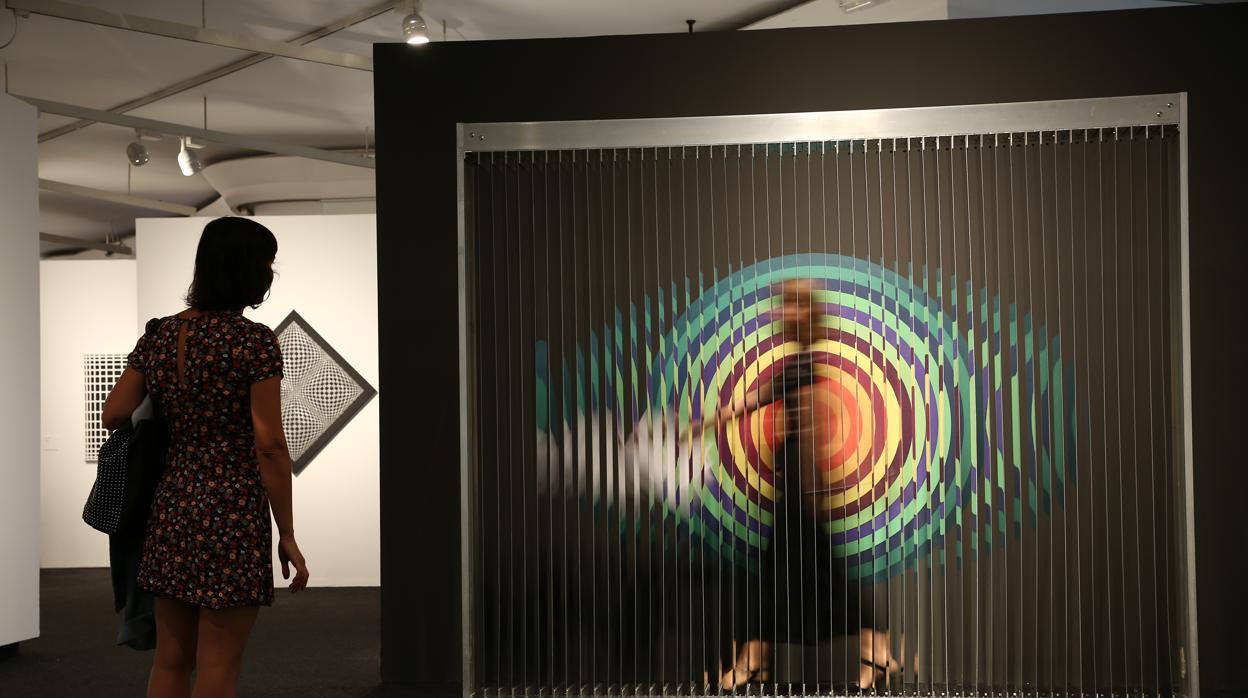 El arte cinético de Duchamp y Calder se cuela en La Pedrera