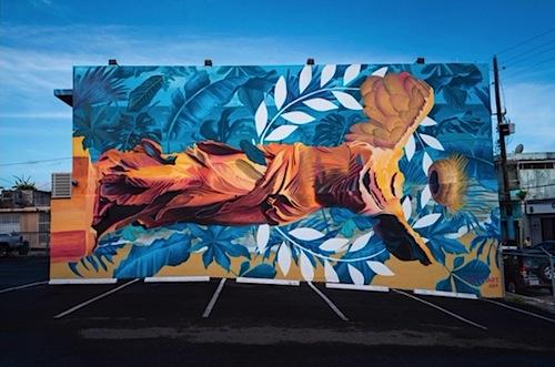 mural nike de atenas david zayas