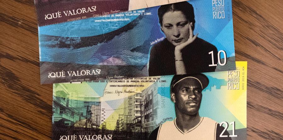 Crean pesos de Puerto Rico inspirados en figuras importantes del país
