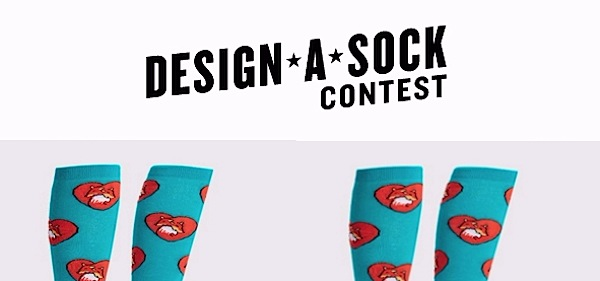 design a sock contest | concurso de media