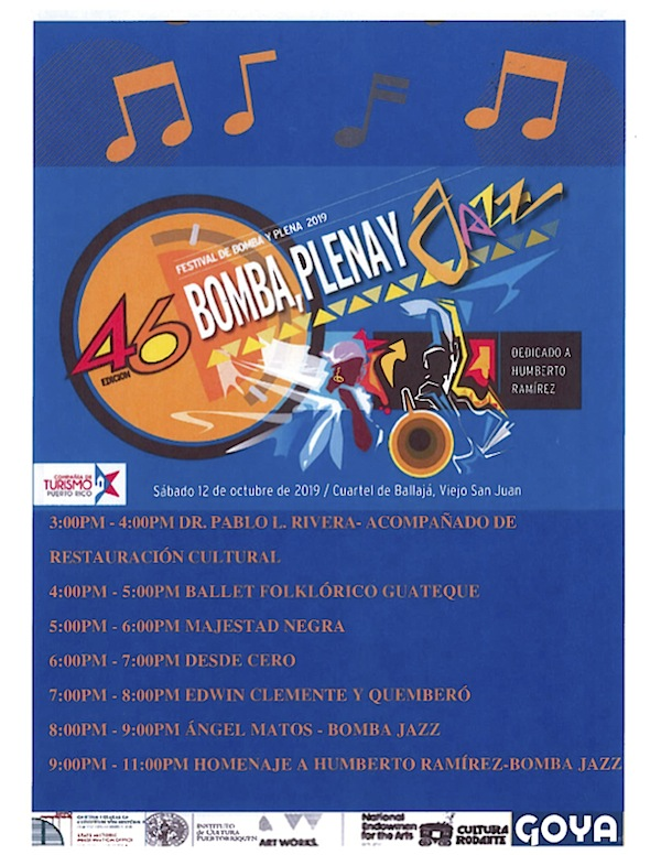 bomba y plena fest - Festival de Plena, Bomba y Jazz