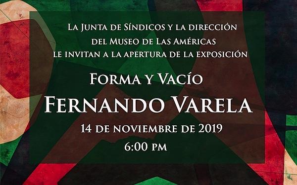 Fernando Varela forma y vacio