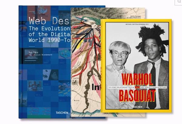 Taschen libros algunas novedades