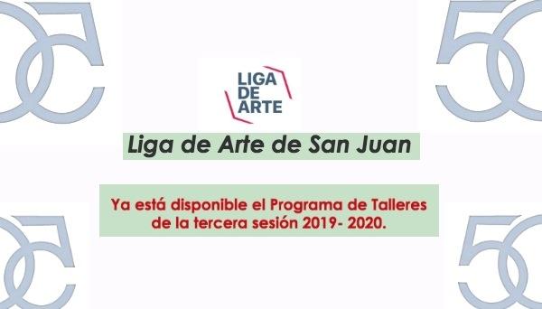 matricula liga de arte 2020