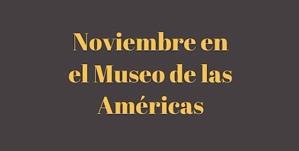 museo américas exposiciones