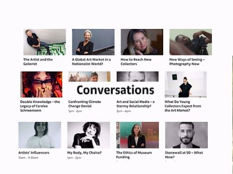 conversations art basel interviews