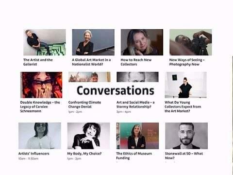 conversations art basel interviews