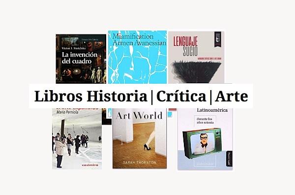 libros critica e historia del arte